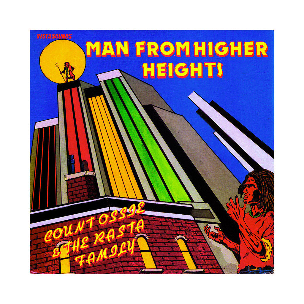 Count Ossie & The Rasta Family - 'Man From Higher Heights' [CD]