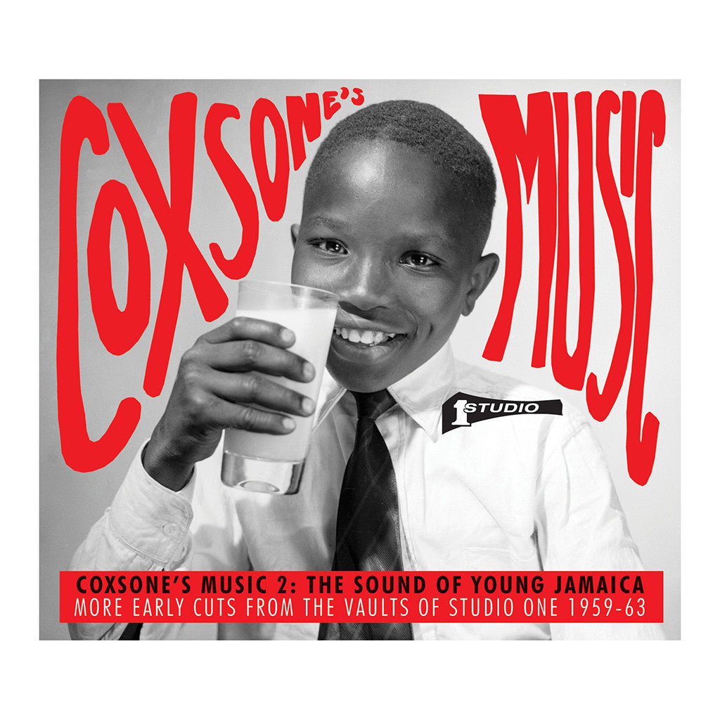 Various Artists - 'Coxsone's Music 2: The Sound Of Young Jamaica, More Early Cuts From The Vaults Of Studio One 1959-63' [CD [2CD]]