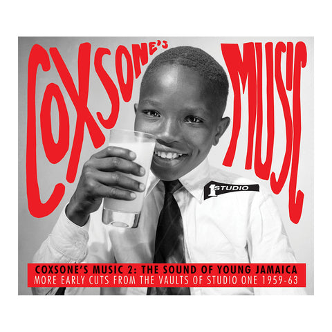 Various Artists - 'Coxsone's Music 2: The Sound Of Young Jamaica, More Early Cuts From The Vaults Of Studio One 1959-63' [(Black) Vinyl [3LP]]