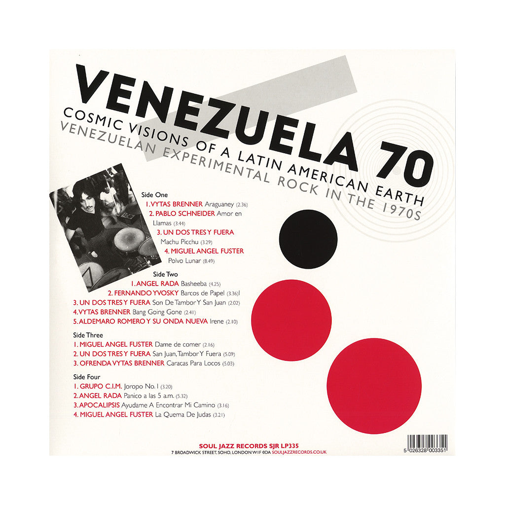 Various Artists - 'VENEZUELA 70: Cosmic Visions Of A Latin American Earth - Venezuelan Experimental Rock In The 1970s' [(Black) Vinyl [2LP]]