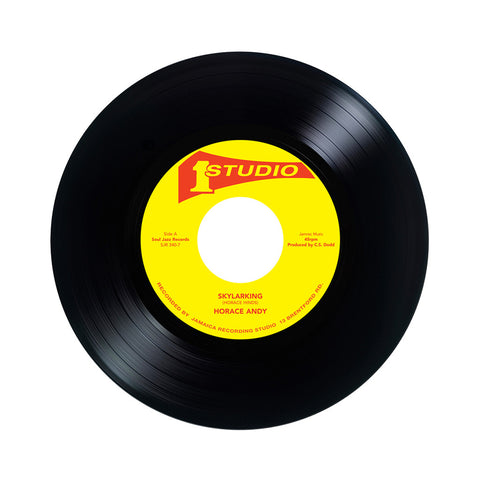 "Horace Andy b/w Dub Specialist - 'Skylarking b/w Sky Rhythm' [(Black) 7"" Vinyl Single]"