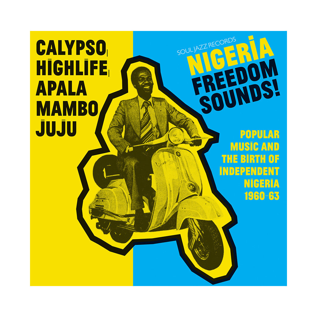 Various Artists - 'Nigeria Freedom Sounds! Popular Music And The Birth Of Independent Nigeria 1960-63' [CD]