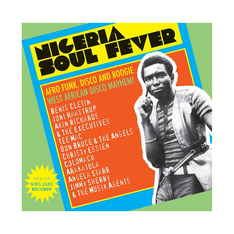 "[""Various Artists - 'Nigeria Soul Fever: Afro Funk, Disco and Boogie - West African Disco Mayhem!' [(Black) Vinyl [3LP]]""]"