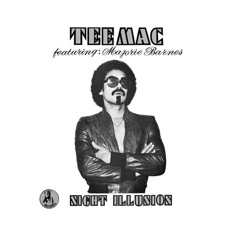 "[""Tee Mac w/ Marjorie Barnes - 'Night Illusion' [(Black) Vinyl LP]""]"