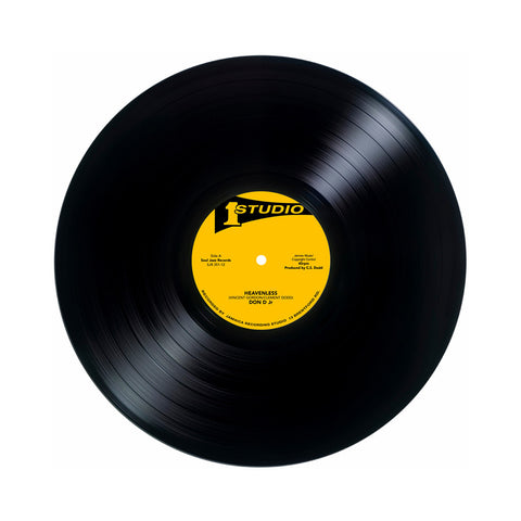 "Don Drummond b/w Jackie Mittoo - 'Heavenless b/w After Christmas' [(Black) 12"" Vinyl Single]"