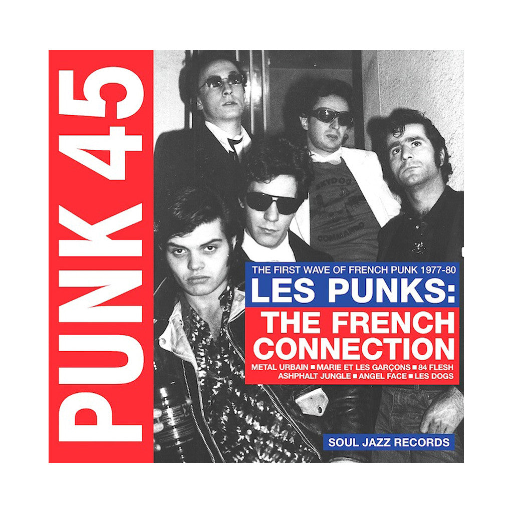 Various Artists - 'Punk 45: Les Punks: The French Connection - The First Wave Of French Punk 1977-80' [(Black) Vinyl [2LP]]