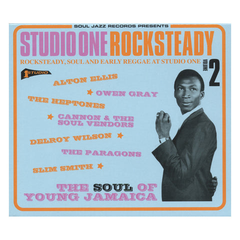 Soul Jazz Records Presents - 'Studio One Rocksteady Vol. 2: The Soul Of Young Jamaica' [CD]