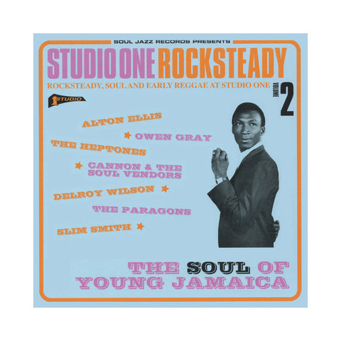 Various Artists - 'Studio One Rocksteady Vol. 2: The Soul Of Young Jamaica' [(Black) Vinyl [2LP]]