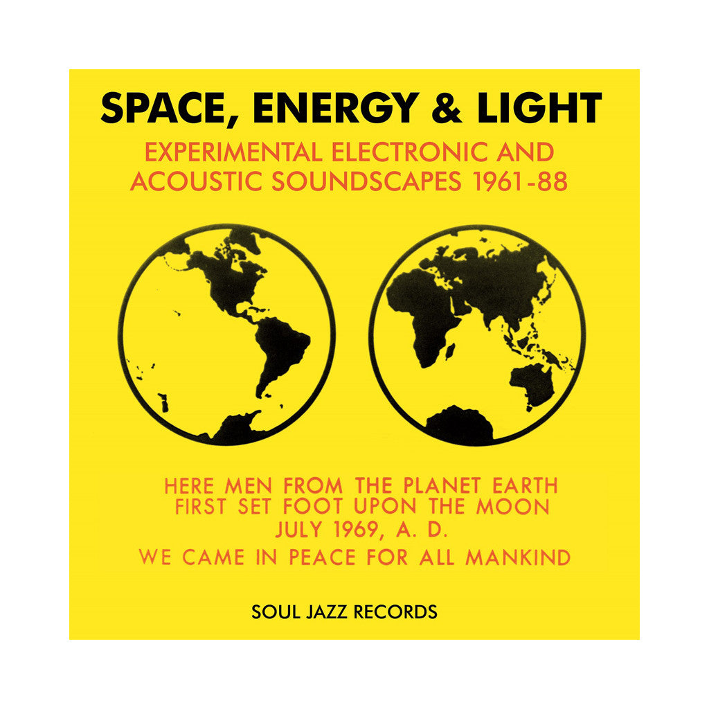 Various Artists - 'Space, Energy, & Light' [(Black) Vinyl [3LP]]