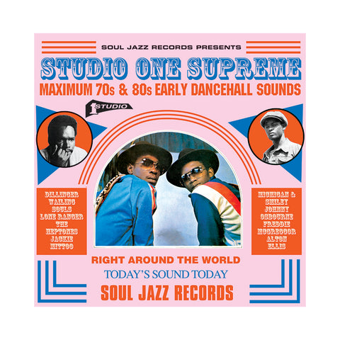 "[""Various Artists - 'Studio One Supreme: Maximum 70s and 80s Early Dancehall Sounds' [(Black) Vinyl [3LP]]""]"