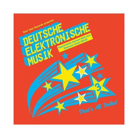"[""Various Artists - 'Deutsche Elektronische Musik 3: Experimental German Rock And Electronic Musik 1972-83' [(Black) Vinyl [3LP]]""]"
