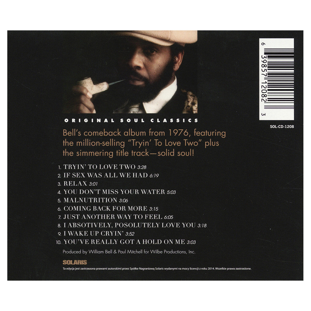 <!--120131112000077-->William Bell - 'Coming Back For More' [CD]