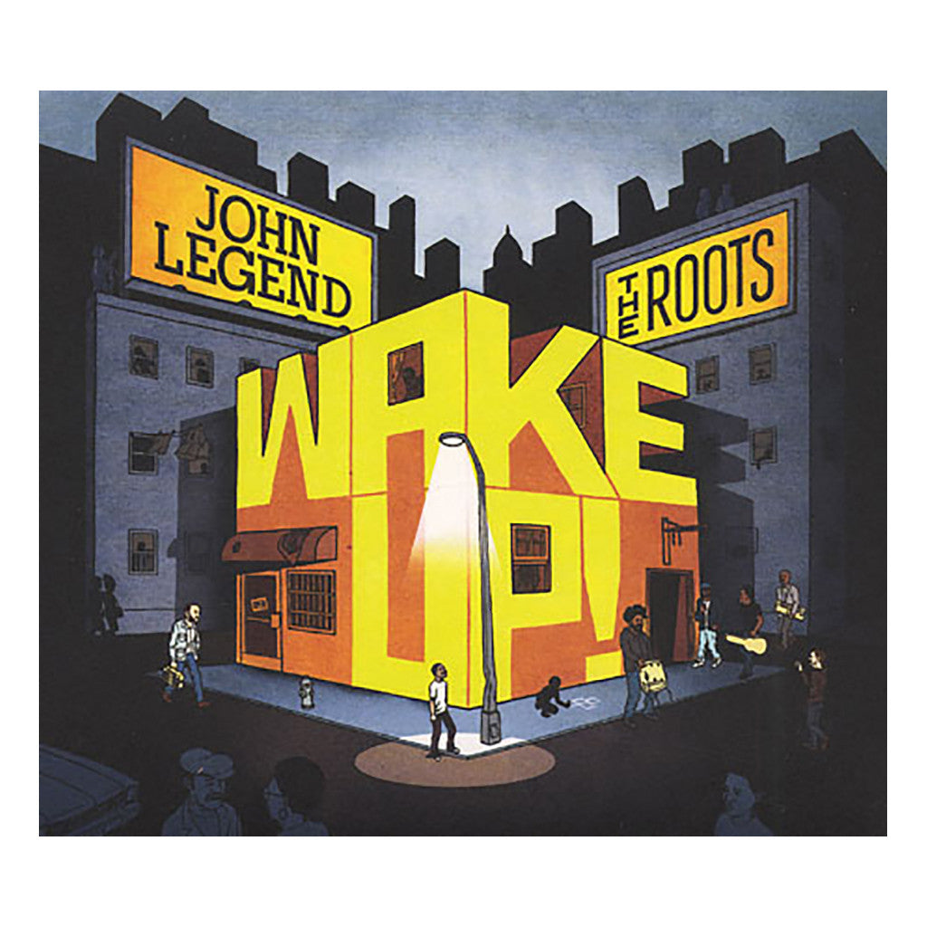 John Legend Amp The Roots Wake Up Cd Cover Art Album