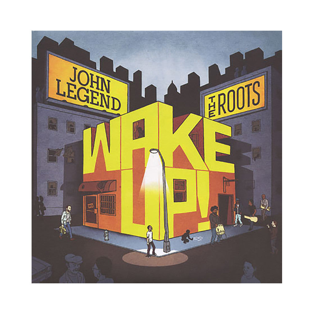 John Legend & The Roots - 'Wake Up!' [(Black) Vinyl [2LP]]
