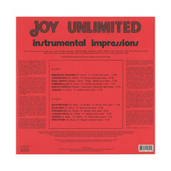 Joy Unlimited - 'Instrumental Impressions' [(Black) Vinyl LP]
