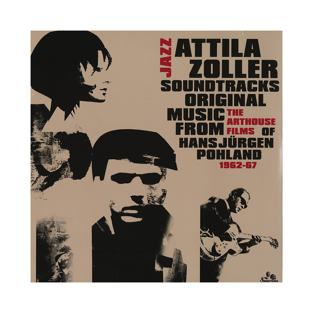 Attila Zoller - 'Jazz Soundtracks: Original Music From The Arthouse Films Of Hans Jurgen Pohland 1962-67' [(Black) Vinyl LP]