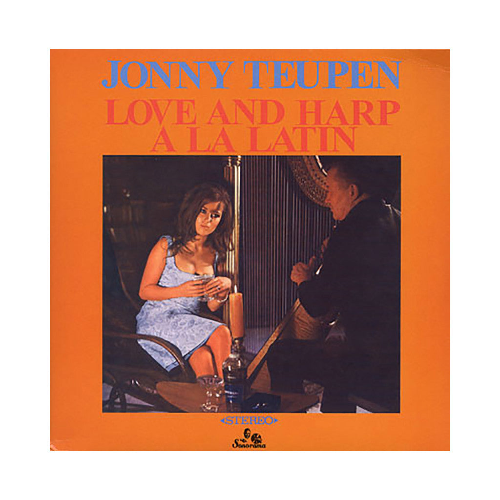Jonny Teupen - 'Love And Harp A La Latin' [(Black) Vinyl LP]