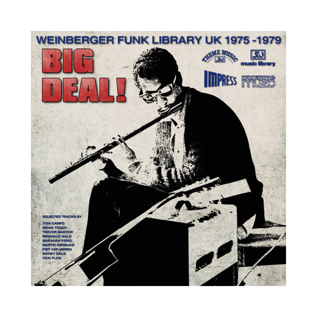 Various Artists - 'Big Deal! Weinberger Funk Library UK 1975-1979' [(Black) Vinyl LP]