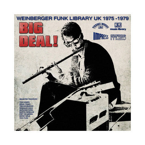 "[""Various Artists - 'Big Deal! Weinberger Funk Library UK 1975-1979' [(Black) Vinyl LP]""]"