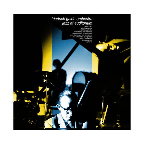 Friedrich Gulda Orchestra - 'Jazz At Auditorium' [(Black) Vinyl LP]