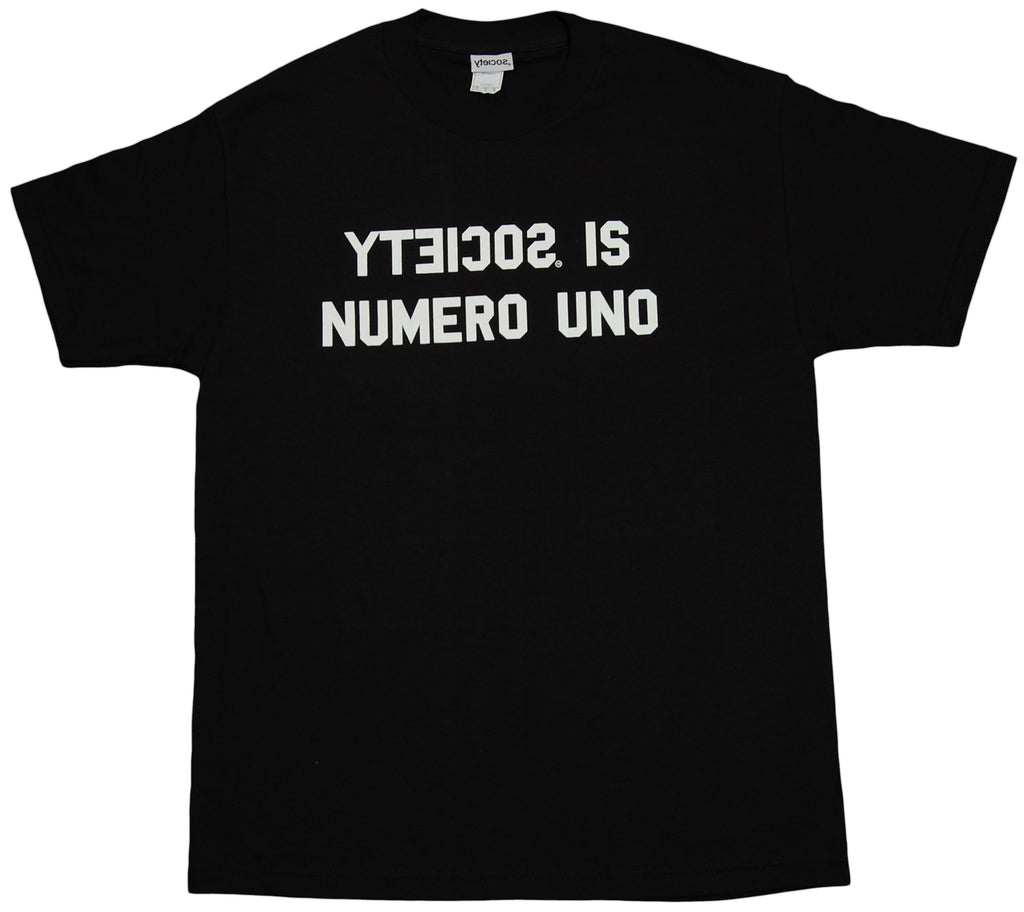 <!--2011092759-->Society Original Products - 'Numero Uno' [(Black) T-Shirt]