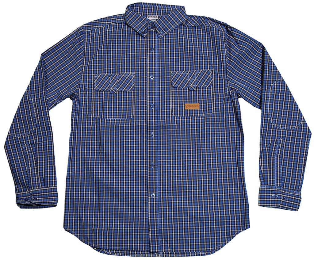 <!--2011110153-->Society Original Products - 'Pick Pocket' [(Blue) Button Down Shirt]