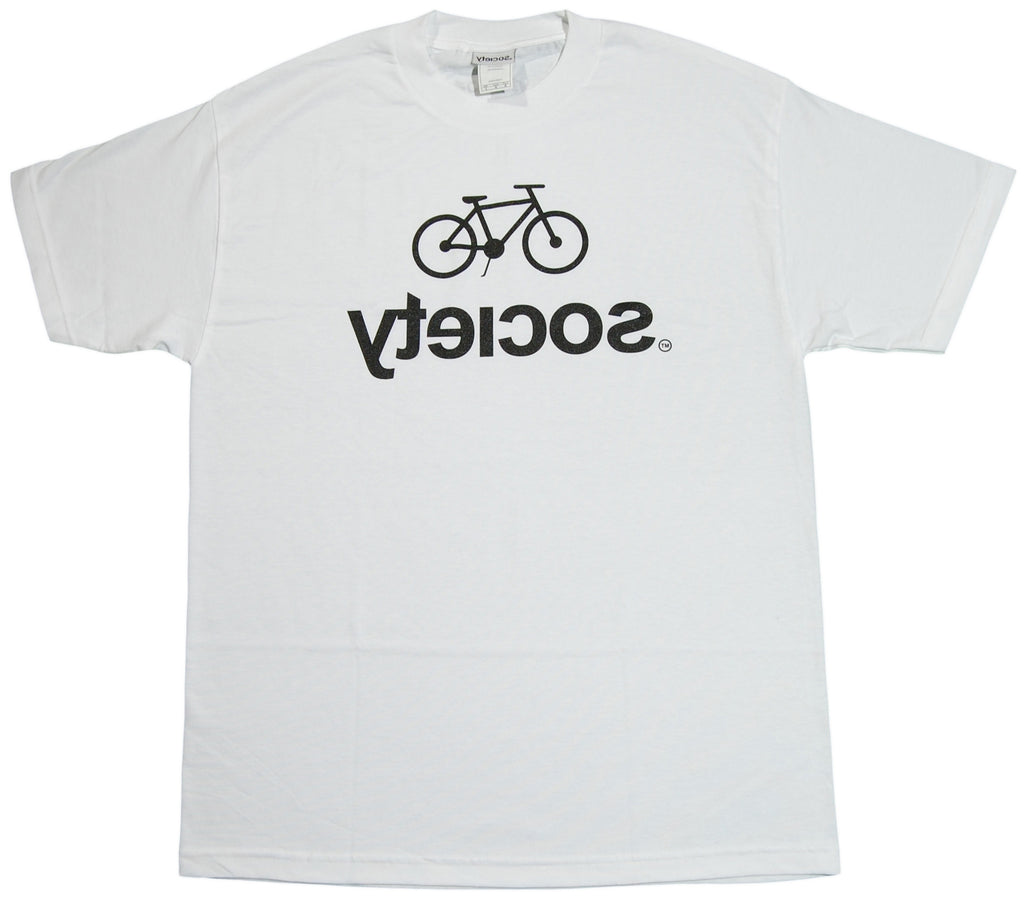 <!--2011110106-->Society Original Products - 'Logo 3' [(White) T-Shirt]