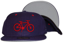 <!--2011092717-->Society Original Products - 'Think Positive - Pistons' [(Dark Blue) Fitted Hat]