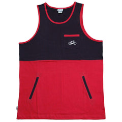 <!--2012050815-->Society Original Products - 'Wig Splitter - Red/ Navy' [(Red) Tank Top]