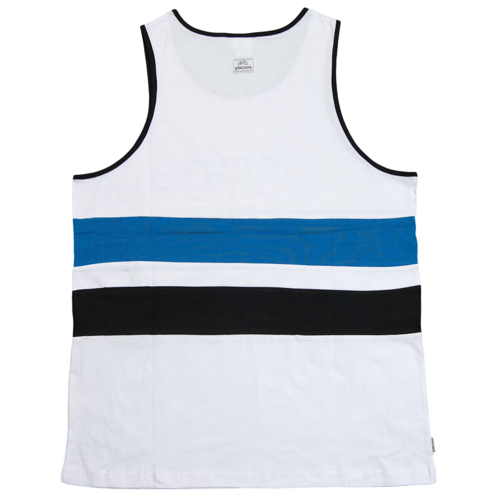 Society Original Products - 'The Wave' [(White) Tank Top]