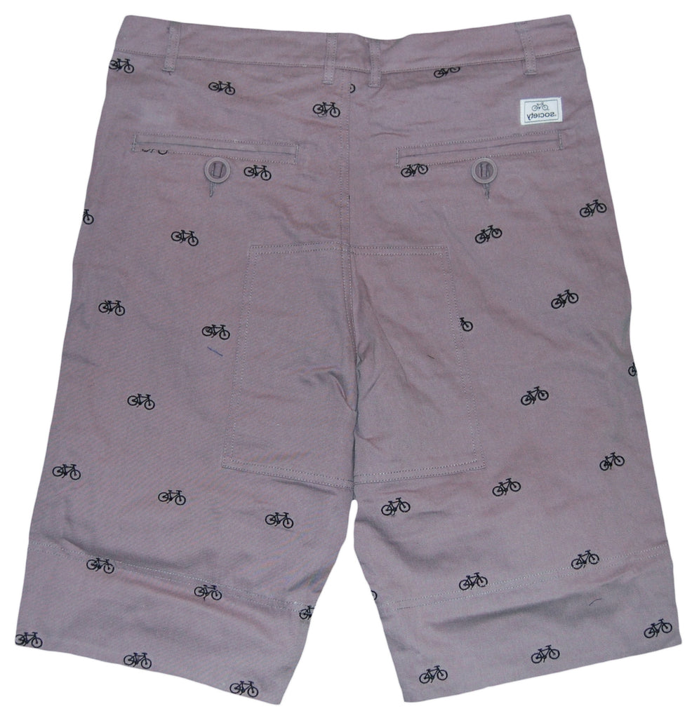 <!--2012040350-->Society Original Products - 'Benjamins' [(Light Gray) Shorts]