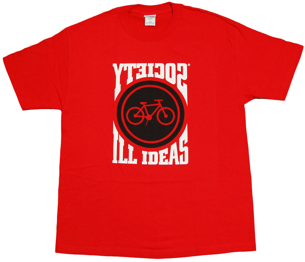 <!--2012040351-->Society Original Products - 'Jumbo Bike' [(Red) T-Shirt]