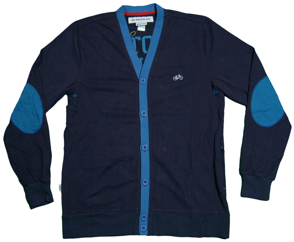 <!--2013012224-->Society Original Products - 'Whatever Dad Cardigan' [(Dark Blue) Sweater]