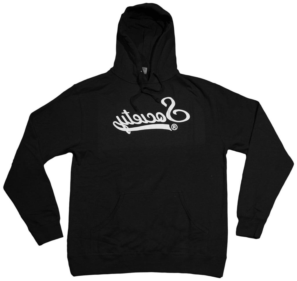 <!--2013012252-->Society Original Products - 'Mr. Swirv' [(Black) Hooded Sweatshirt]