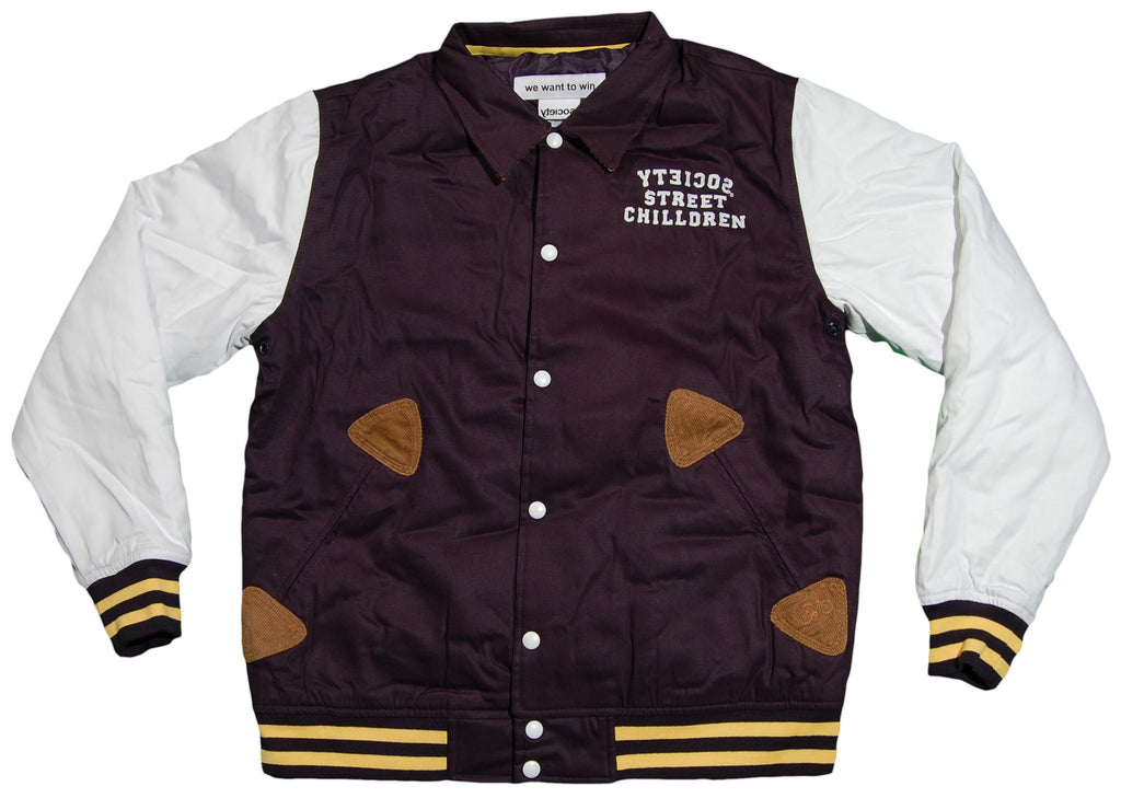 <!--2012103045-->Society Original Products - 'Giant Land Varsity' [(Dark Blue) Jacket]