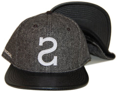 <!--020130618057515-->Society Original Products - 'Big S' [(Gray) Snap Back Hat]
