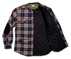 <!--2014010927-->Society Original Products - 'Line Drive Flannel' [(Dark Blue) Button Down Shirt]