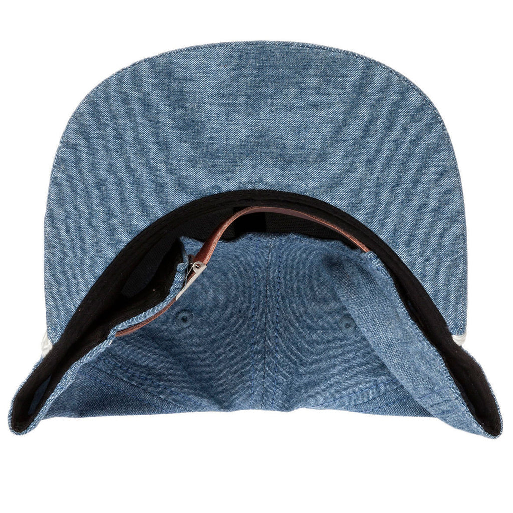 <!--020140716064818-->Society Original Products - 'Big S Chambray' [(Light Blue) Strap Back Hat]