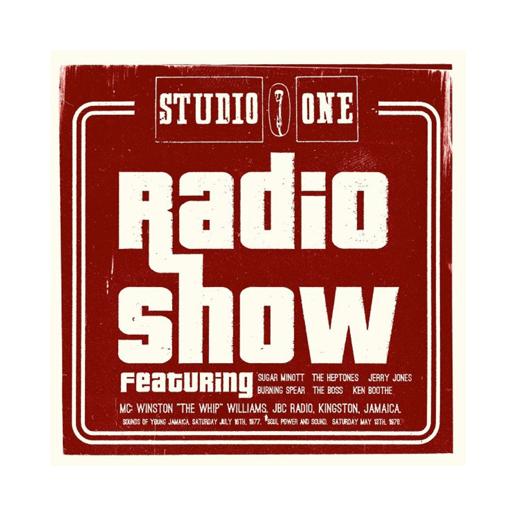 Various Artists - 'Studio One Radio Show' [CD]
