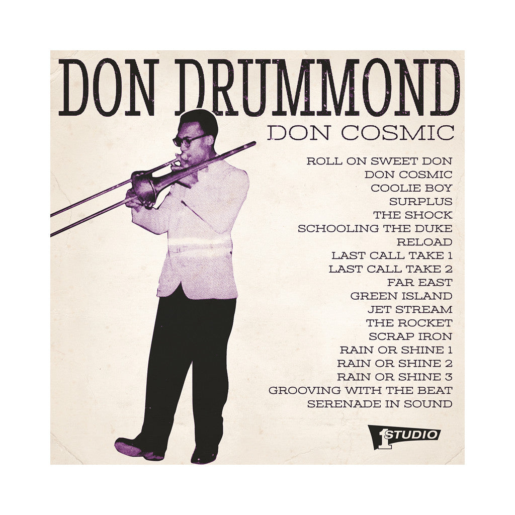Don Drummond - 'Don Cosmic' [(Black) Vinyl [2LP]]