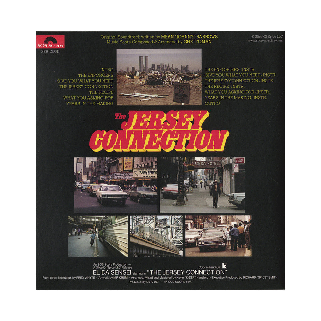 The Enforcers - 'The Jersey Connection' [CD]