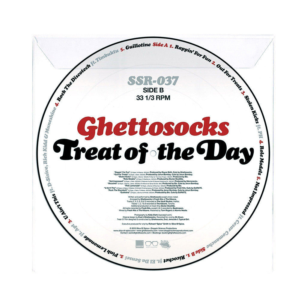 Ghettosocks - 'Treat Of The Day' [(Picture Disc) Vinyl LP]