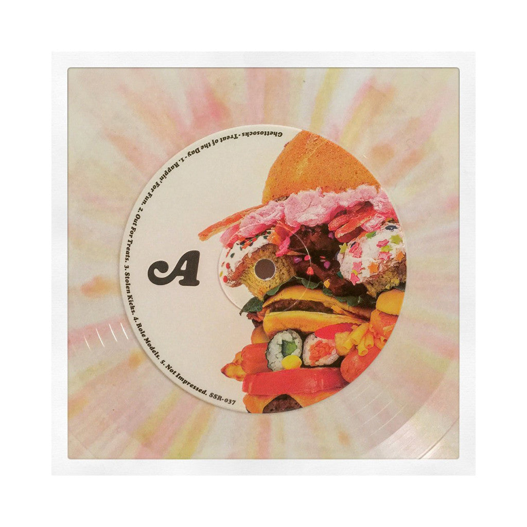 Ghettosocks - 'Treat Of The Day (Special Edition)' [(White, Pink & Yellow Splatter) Vinyl LP]