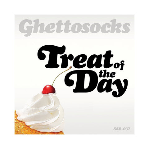 "[""Ghettosocks - 'Treat Of The Day (Special Edition)' [(White, Pink & Yellow Splatter) Vinyl LP]""]"