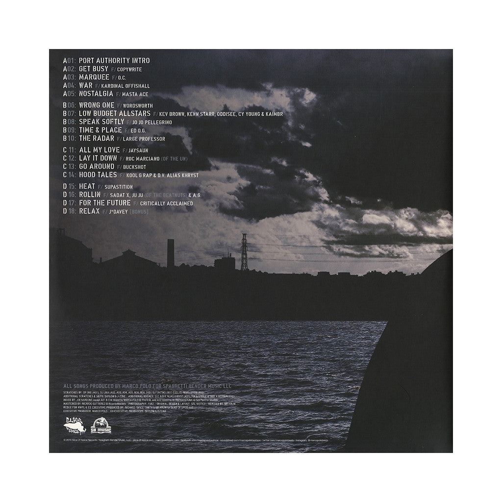 Marco Polo - Port Authority (Deluxe Edition) - Vinyl LP - producer