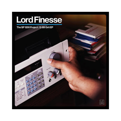 "[""Lord Finesse - 'The SP1200 Project: 12-Bit Grit' [(Black) Vinyl EP]""]"