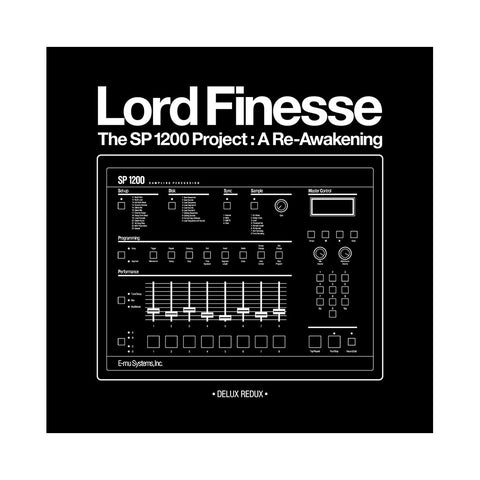 "[""Lord Finesse - 'The SP1200 Project: A Re-Awakening (Deluxe Redux)' [(Black) Vinyl [3LP]]""]"