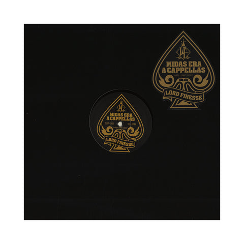 Lord Finesse - 'Midas Era A Cappellas: Rare & Unreleased' [(Black) Vinyl LP]