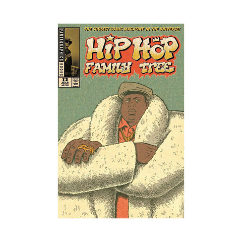 "[""Jorun Bombay - 'Hip Hop Family Tree Issue 12' [Comic Book]""]"
