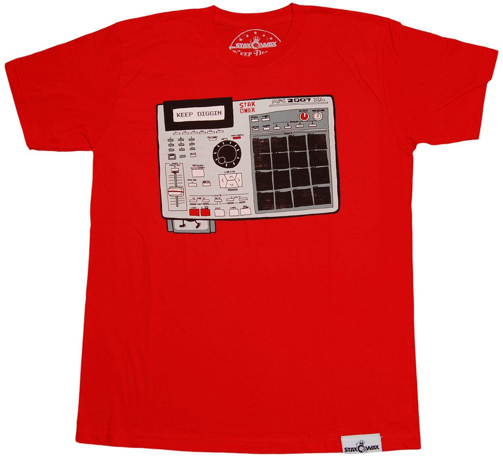 <!--2011091328-->Staxowax - 'MPC' [(Red) T-Shirt]
